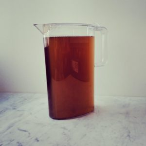 A monthly iced tea subscription with enough tea to make a weekly large pitcher of iced tea. First shipment is a sampler of 6 different teas to taste and rate. Renews on the 15th of each month and delivers first week of next.